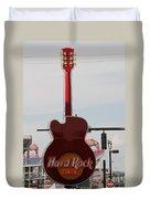 Hard Rock Cafe Nashville Duvet Cover