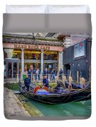 Hard Rock Cafe Venice Gondolas_dsc1294_02282017 Duvet Cover