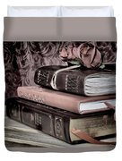 Hardcover Books Duvet Cover