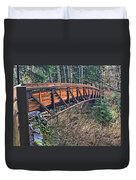 Hardy Creek Bridge Duvet Cover