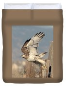 Harlans Hawk Launch Duvet Cover