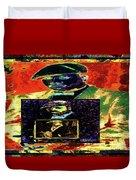 Harlem Renaissance Deja Vu Number 1 Duvet Cover