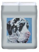 harlequin Great Dane Duvet Cover
