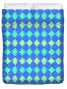 Harlequin Minty Fresh Duvet Cover