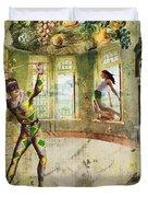 Harlequin Duvet Cover