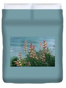 Harlequins In Harmony Duvet Cover by Kathy Yates