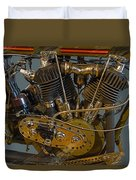 Harley 1918 Cycle Engine Duvet Cover