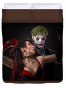 Harley And The Joker Duvet Cover