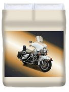 Harley Classic Gold Duvet Cover