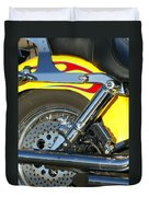 Harley-davidson Twin Cam 88 Rear Wheel Duvet Cover