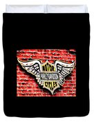 Harley Davidson Wings Duvet Cover