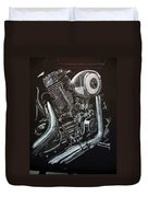 Harley Engine Duvet Cover