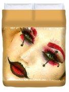 Harley Quinn Face - Da Duvet Cover