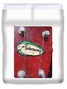 Harmony Uke Duvet Cover