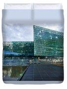 Harpa Concert Hall - Iceland Duvet Cover