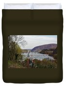 Harpers Ferry - Shenandoah Meets The Potomac Duvet Cover