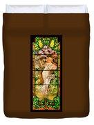 Harpist Duvet Cover
