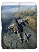 Harrier Element Duvet Cover