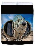Harrier Ground Attack Jet Airplane Duvet Cover