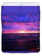 Harrington Beach Sunrise 3 Duvet Cover
