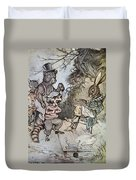 Harris: Uncle Remus, 1917 Duvet Cover