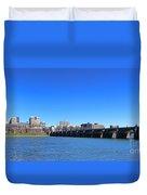 Harrisburg Skyline Duvet Cover