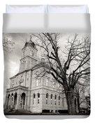 Harrisonburg, Rockingham County Courthouse, Virginia - Bw 1 Duvet Cover