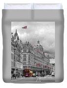 Harrods Of Knightsbridge Bw Hdr Duvet Cover