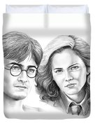 Harry Potter And Hermione Duvet Cover