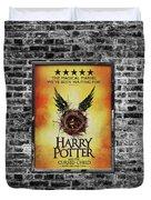 Harry Potter London Theatre Poster Duvet Cover