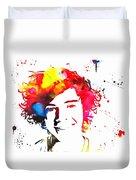 Harry Styles Paint Splatter Duvet Cover