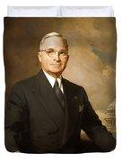 Harry Truman Duvet Cover