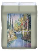 Hartman Creek Birches Duvet Cover
