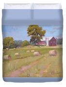 Hartville, Ohio Farm Duvet Cover