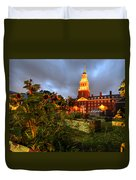 Harvard Community Garden Cambridge Ma Duvet Cover