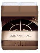 Harvard Hall #2 Duvet Cover