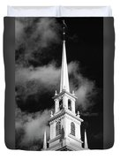 Harvard Memorial Church Steeple Duvet Cover