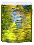 Harvest Gold Mosaic Duvet Cover