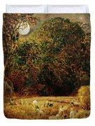 Harvest Moon Duvet Cover