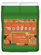 Harvest Spanish Duvet Cover