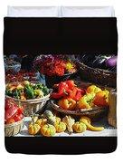 Harvest Table Duvet Cover