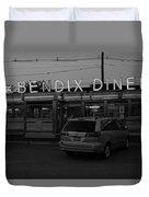 Hasbrouck Heights, Nj - Bendix Diner 3 Duvet Cover
