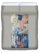 Hassam Avenue In The Rain Duvet Cover