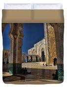 Hassan II Mosque  Duvet Cover