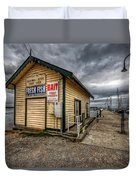 Hastings Jetty Duvet Cover