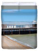 Hastings Pier Pavilion Duvet Cover