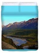 Hatcher's Pass Alaska Duvet Cover