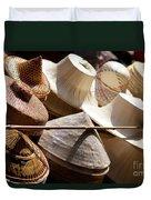 Hats For Sale Duvet Cover