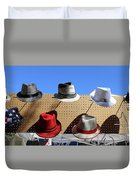 Hats Selection Day Dead  Duvet Cover