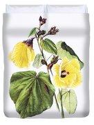 Hau Flower Art Duvet Cover